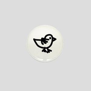 Alphabet Mini Button (chick)