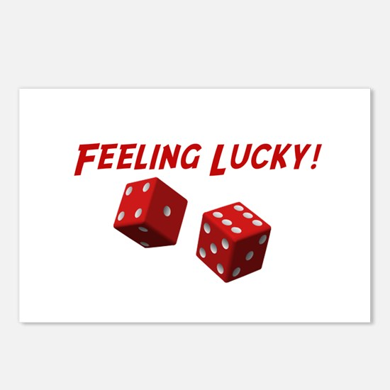 Feeling Lucky Postcards (Package of 8)