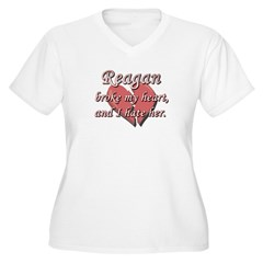 Reagan broke my heart and I hate her T-Shirt