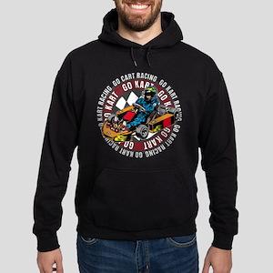 Go Kart Racing Hoodie (dark)