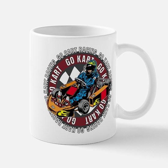 Go Kart Racing Mug