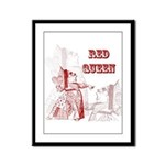 The Red Queen Framed Panel Print