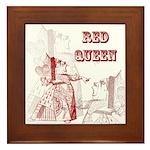 The Red Queen Framed Tile