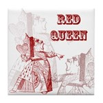 The Red Queen Tile Coaster