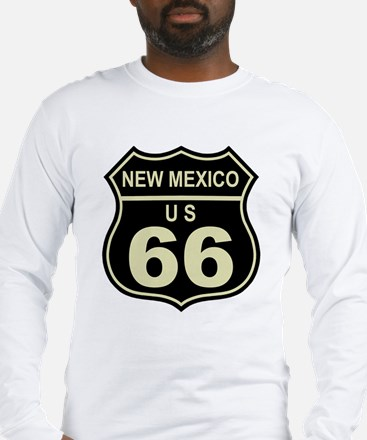 New Mexico Route 66 Long Sleeve T-Shirt