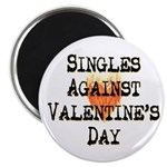 Singles Against Valentines Day Magnet