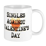 Singles Against Valentines Day Mug