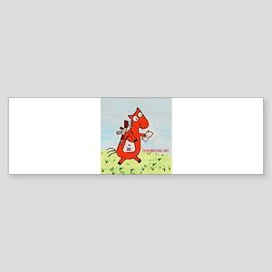 Horse Mailman Bumper Sticker