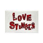 Love Stinks Rectangle Magnet
