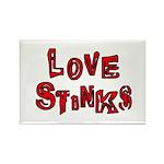 Love Stinks Rectangle Magnet (100 pack)