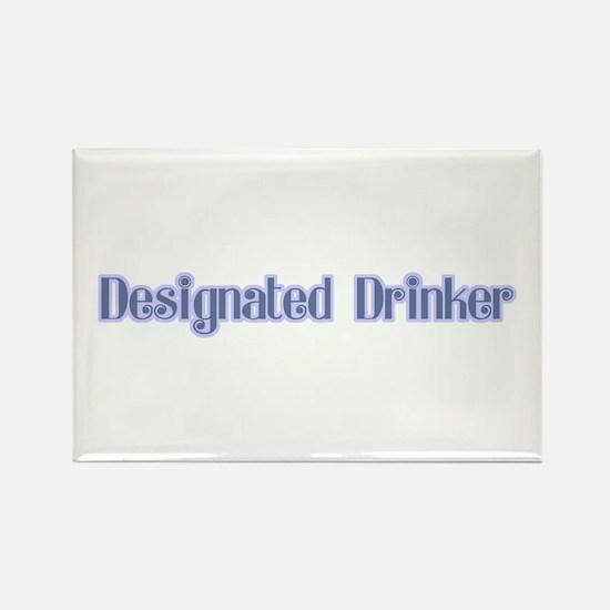 Drinking Humor Rectangle Magnet