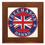 Hawaii Masons Framed Tile