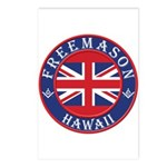 Hawaii Masons Postcards (Package of 8)