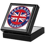 Hawaii Masons Keepsake Box