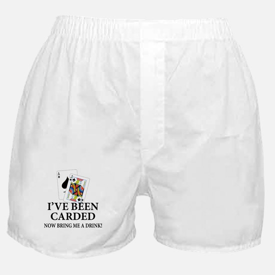 Blackjack 21st Bday Boxer Shorts