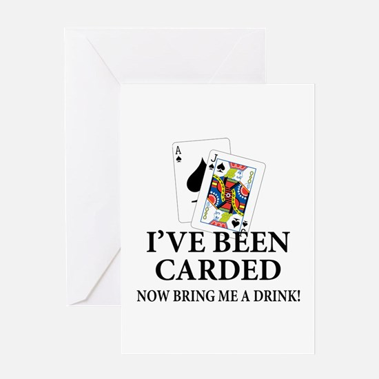 Funny 21st birthday funny 21st birthday greeting cards cafepress blackjack 21st bday greeting card bookmarktalkfo Image collections