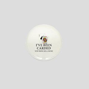 Blackjack 21st Bday Mini Button
