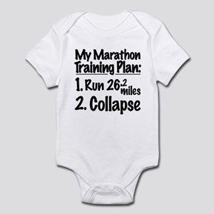 My Marathon Training Plan Infant Bodysuit