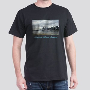 Downtown Vancouver BC Dark T-Shirt