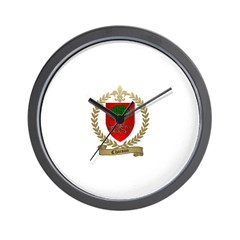 CHAISON Family Crest Wall Clock