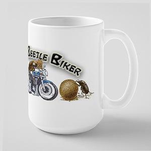 Dung Beetle Biker Mug