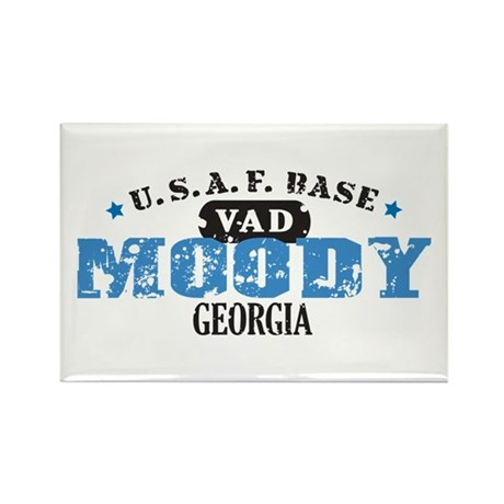 Moody Air Force Base Rectangle Magnet