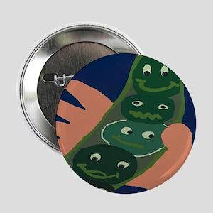 Vegetable Happy Peas Button