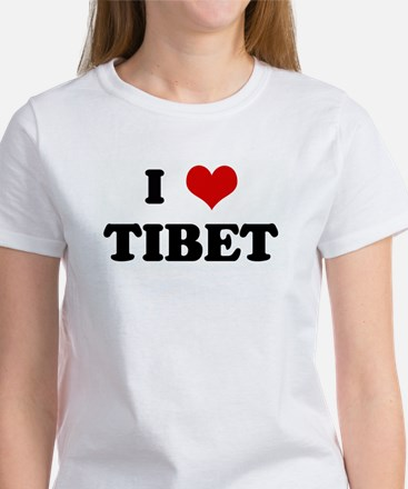 I Love TIBET Women's T-Shirt