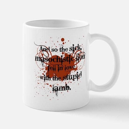 Sick Masochistic Lion Mug