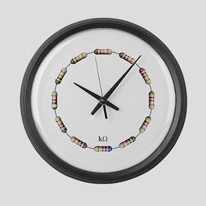 kOhm Large Wall Clock