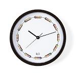 kOhm Wall Clock