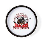 Bull Haulers Association Wall Clock