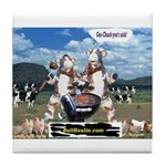 Bull Haulers Association Tile Coaster