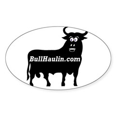 Bull Haulers Association Oval Decal
