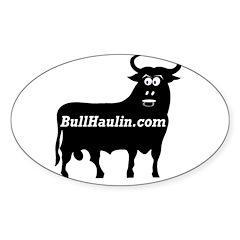 Bull Haulers Association Oval Sticker (10 pk)