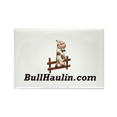 Bull Haulers Association Rectangle Magnet (100 pac