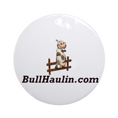 Bull Haulers Association Ornament (Round)