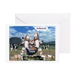 Bull Haulers Association Greeting Card