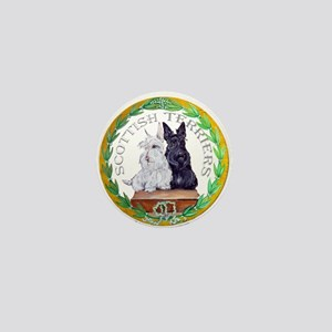 Scottish Terrier Crest Mini Button