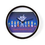 HanuKat Wall Clock