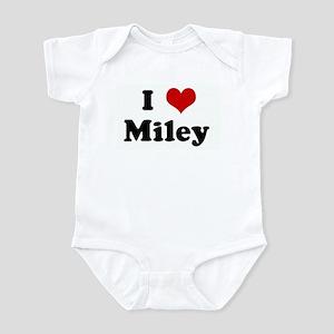 I Love Miley Infant Bodysuit