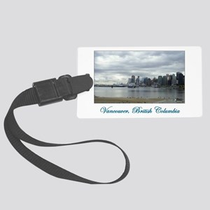 Downtown Vancouver BC Large Luggage Tag