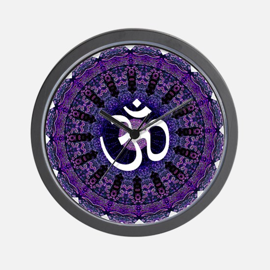 Third Eye OM Wall Clock