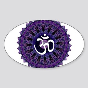 Third Eye OM Oval Sticker