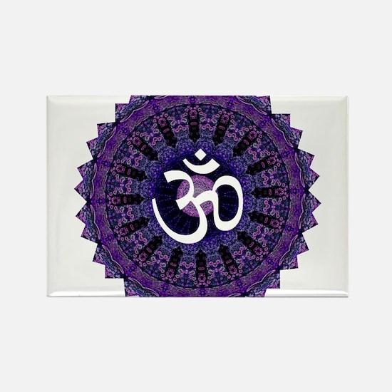 Third Eye OM Rectangle Magnet (100 pack)