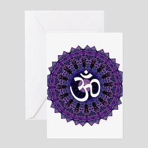 Third Eye OM Greeting Card