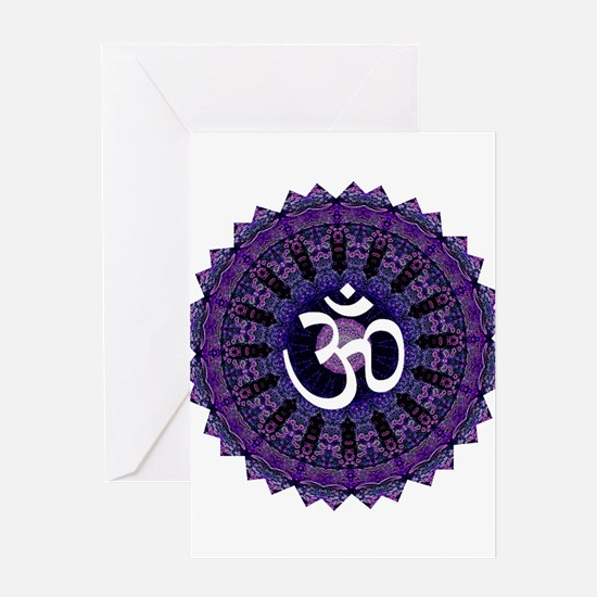 Third Eye OM Greeting Card