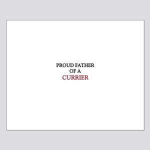 Proud Father Of A CURRIER Small Poster