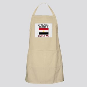 My Egyptian Boyfriend Loves Me BBQ Apron