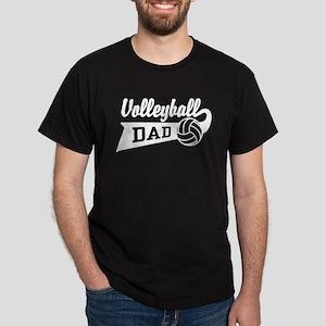 Volleyball Dad Dark T-Shirt